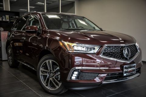 New 2017 Acura MDX SH-AWD with Advance Package With Navigation