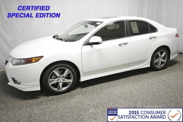 Certified Used Acura TSX Special Edition